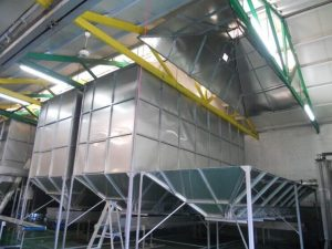 Αβάκες st-steel για απόθήκευση μπουκαλιών σε εργοστά